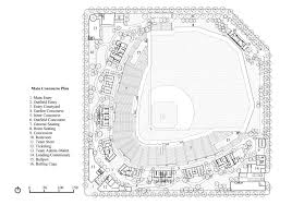 dr pepper ballpark frisco rough riders aa david m schwarz dr pepper ballpark main concourse floor plan