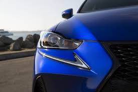 sporty lexus blue the 2017 lexus is 350 f sport is a fun if controversially styled