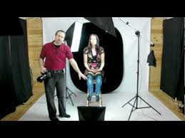 home photography lighting kit portrait photography using continuous lighting youtube