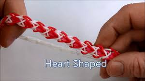 rainbow heart bracelet images How to make the heart shaped sweetheart bracelet on the rainbow jpg