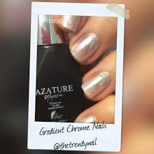chrome nails get the look without gel polish the trendy nail
