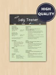 teaching resume template resume template word 66 images best resume template