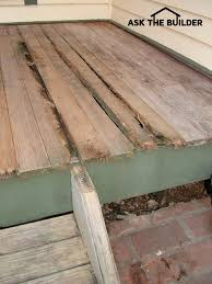 front porch wood flooring ask the builderask the builder