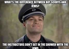 Boy Scout Memes - what s the difference between boy scouts and jews the instructors