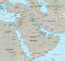 middle east map changes middle east simple the free encyclopedia