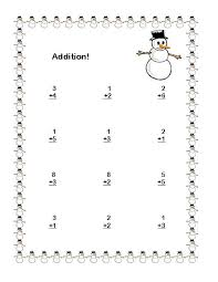 addition addition subtraction worksheets for kindergarten free