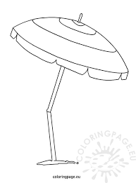 tropical beach coloring pages beach umbrella coloring page