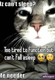 Too Tired Meme - tired to function but can t fall asleep