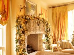 wonderful santa clause themed of fireplace christmas decorations
