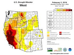 california drought map january 2016 drought remains serious in california capradio org