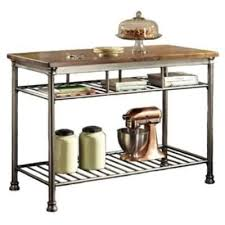 metal kitchen island buy style hardwood butcher block top metal kitchen