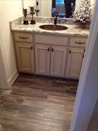 white bathroom floor cabinet white stained wooden frame glass