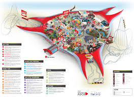 map of abu dabi park overview world abu dhabi world abu dhabi