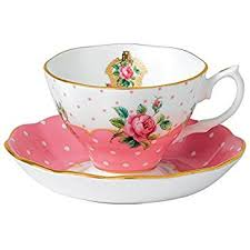 teacup and saucer royal albert chepnk26581 new country roses vintage
