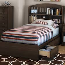 Bed Bookcase Headboard Amazing Twin Beds With Bookcase Headboard 45 On King Size
