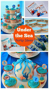 Ocean Cake Decorations Love That Party Birthday Invitations And Party Decorations