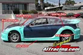 2000 toyota celica gts kits toyota celica ait racing k1 style wide kit tc00bmk1sck by