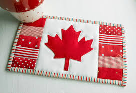 Candaian Flag The Patchsmith Canadian Flag Maple Leaf Mug Rug