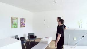 how to mount gallery rails and hang pictures youtube