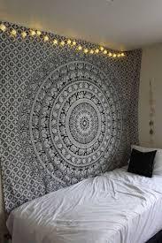 hippie tapestries mandala bohemian tapestries bedspreads black and white floral hippie elephant mandala tapestry