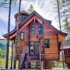 snow bear chalets luxury vacation rental treehouses on whitefish mt