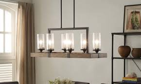 Chandelier Height Above Table by Top 6 Light Fixtures For A Glowing Dining Room Overstock Com