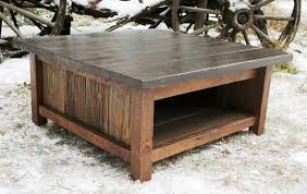 Coffee Tables Plans How To Make Rustic Wood Coffee Table Decor Homes