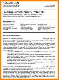 Warehouse Supervisor Resume Resume Cv Cover Letter Operations Management Resume Examples