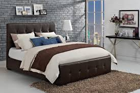 dhp furniture florence upholstered bed