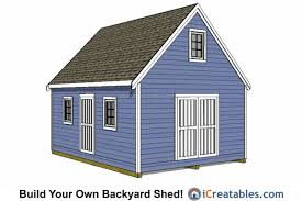 2 story storage shed with loft 16 x 24 floor plan small house 6 16x20 shed plans build a large storage shed diy shed designs