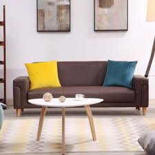 site de vente de canapé canapé trois places marron canapé salon ameublement le meilleur site