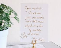 wedding quotes keats keats etsy