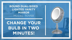 Rialto Mirrors Lighted by How To Zadro Z U0027beauty Lighted Vanity Mirror Bulb Replacement
