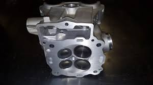 ktm 450 motorcycle cylinder head valve job and surface motor