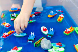 messy boats sticky yummy toddler play busy toddler