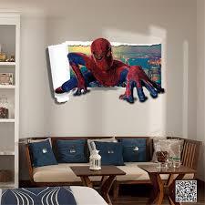 avengers amazingspiderman wall stickers 3d superhero decals