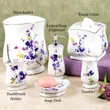 accessories charming lavender bathroom accessories overview