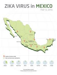 Taxco Mexico Map by Mexico Zika Map Travel Information About Zika Cases In Mexico