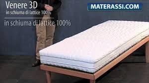 materasso 100 lattice naturale materasso in lattice naturale 100 mod venere 3d