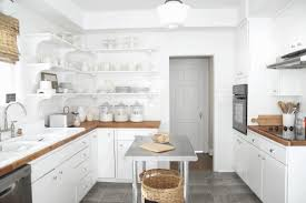 kitchen cabinets open shelving fancy analog wall mounted clock