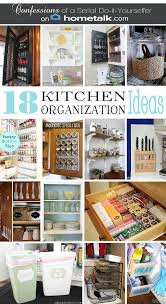 diy kitchen organization ideas diy spice cabinet and 17 more kitchen organization ideas with