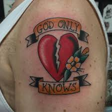 broken heart tattoos pictures to pin on pinterest tattooskid