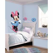 roommates mickey and friends minnie mouse peel mickey and friends minnie mouse peel stick giant wall decal piece rmk the home depot