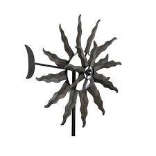 tuscan sun windmill garden stake spinner yard ornament style