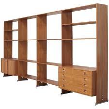 Free Standing Bookcases Hans Wegner Freestanding Teak Bookcase Wall Unit Shelving System