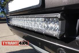 Led Light Bar Brackets by Ford Ranger Mkii 2015 2017 Bottom Grille Led Light Bar U0026 Bracket