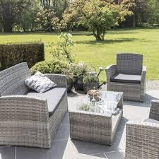 canapé de jardin en résine salon de jardin table fauteuil chaise salon de jardin pas cher