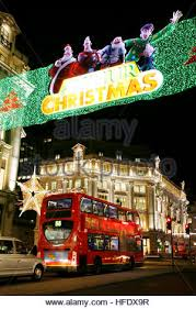2011 christmas lights in regent street soho city of westminster