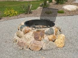 Firepit Rocks Pit Images Collection Firepit Rocks Thin Black Grill Small