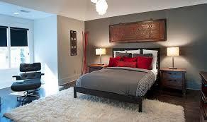 asiatisches schlafzimmer asiatisch inspirierte schlafzimmer in grau und rot